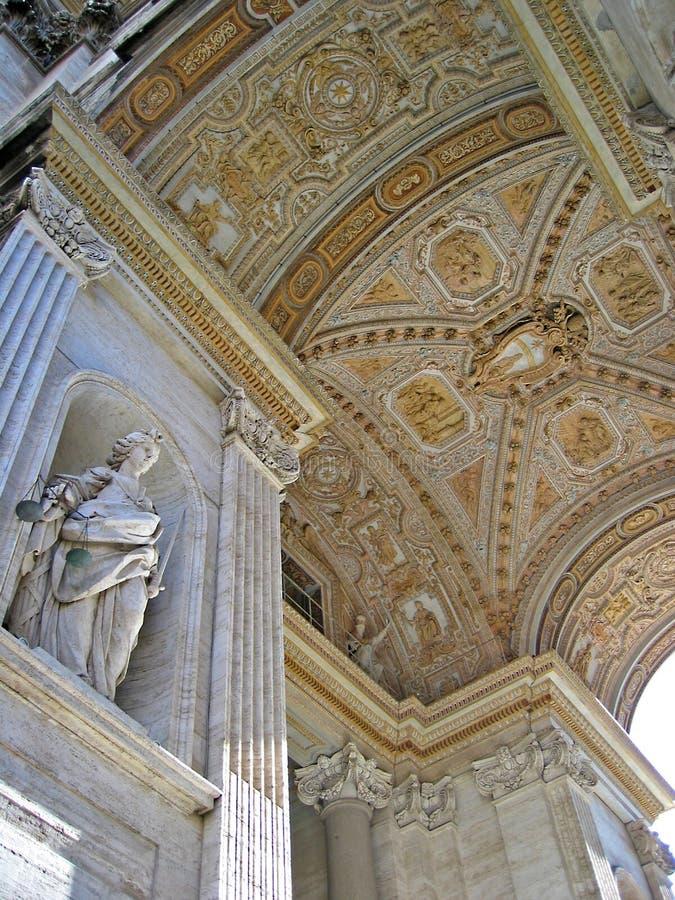 miasto Watykanu obraz royalty free