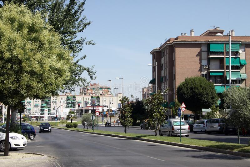 Miasto widok Granada - jeden antyczni i piękni miasta w Hiszpania obraz royalty free