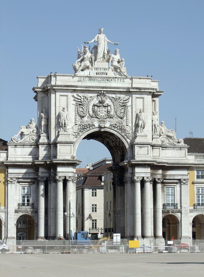 Miasto widok Lisbon obraz stock
