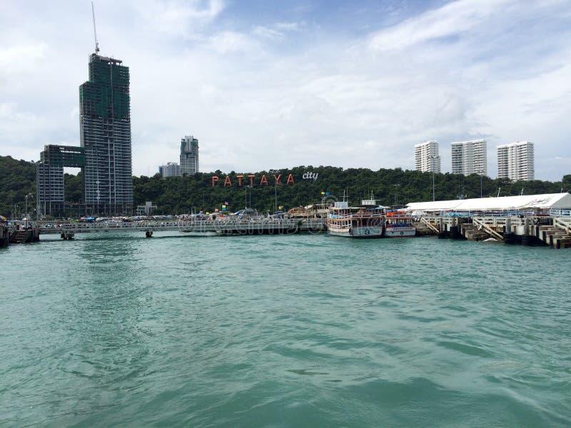 Miasto widok Pattaya zdjęcie stock