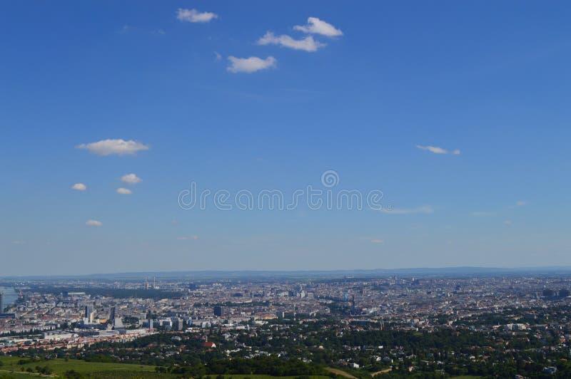 Miasto widok Vienna zdjęcia stock