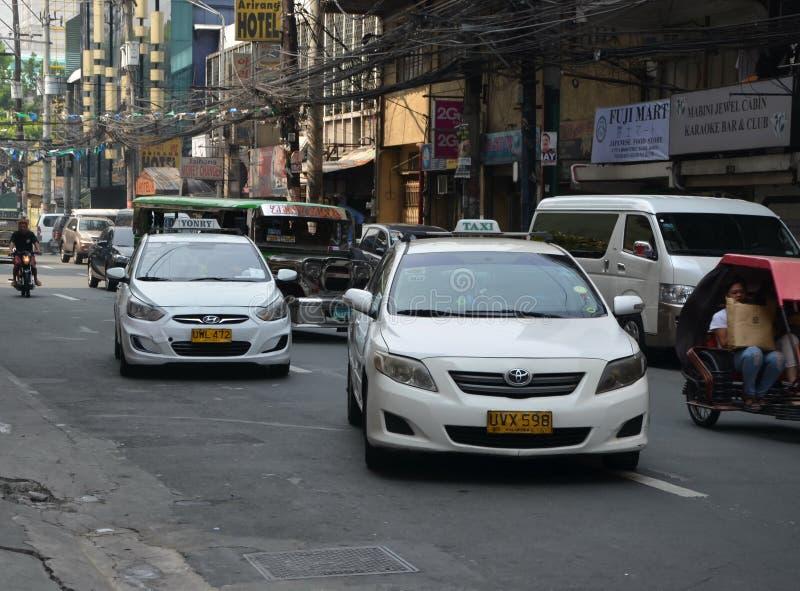 Miasto widoki Manila zdjęcie royalty free
