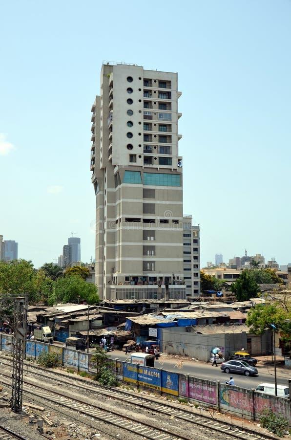 Miasto widoki Mumbai obraz royalty free