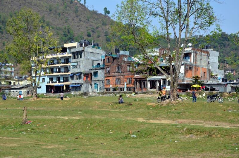 Miasto widoki Pokhara obrazy stock