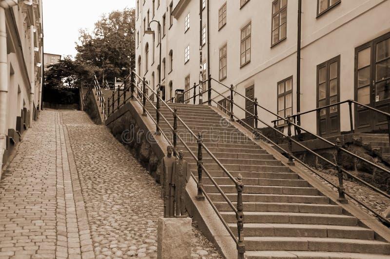 Miasto widoki Sztokholm zdjęcia royalty free