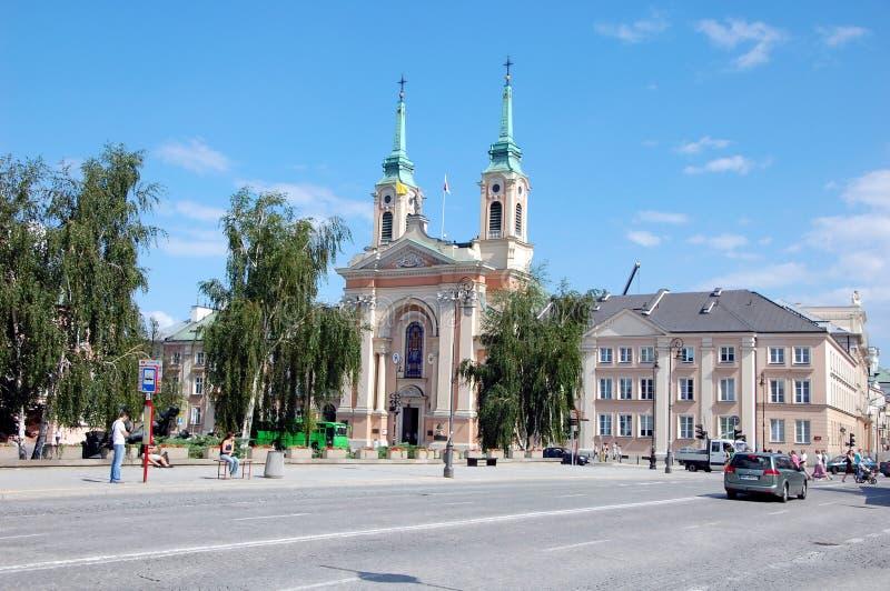 Miasto widoki Warszawa obraz stock