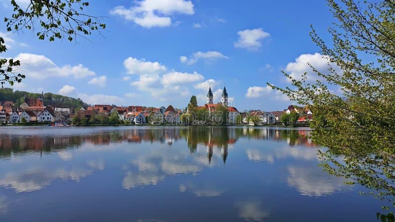 Miasto Z?y Waldsee zdjęcie stock