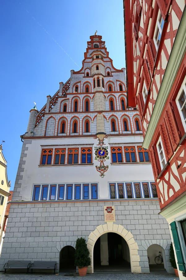 Miasto Z?y Waldsee zdjęcia royalty free