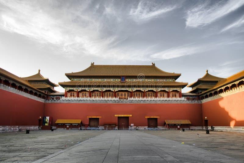 miasto zakazujący cesarski pałac zdjęcia stock