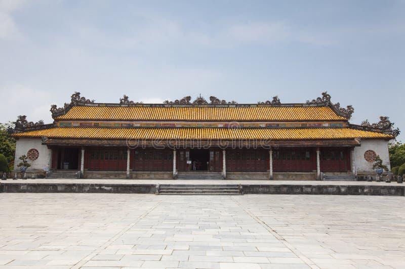 miasto zakazujący odcień Vietnam zdjęcia royalty free