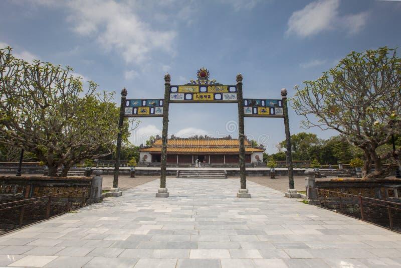 miasto zakazujący odcień Vietnam zdjęcie stock