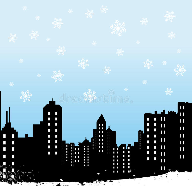 Miasto zima