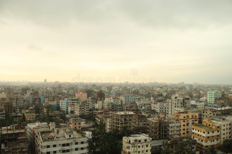 Miastowa scena Dhaka zdjęcia stock