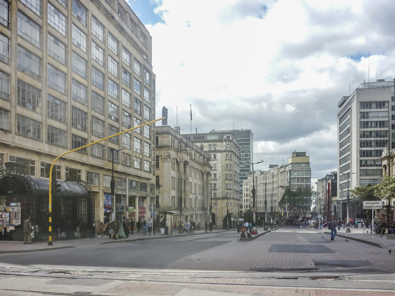 Miastowa scena W Bogota Kolumbia obraz royalty free