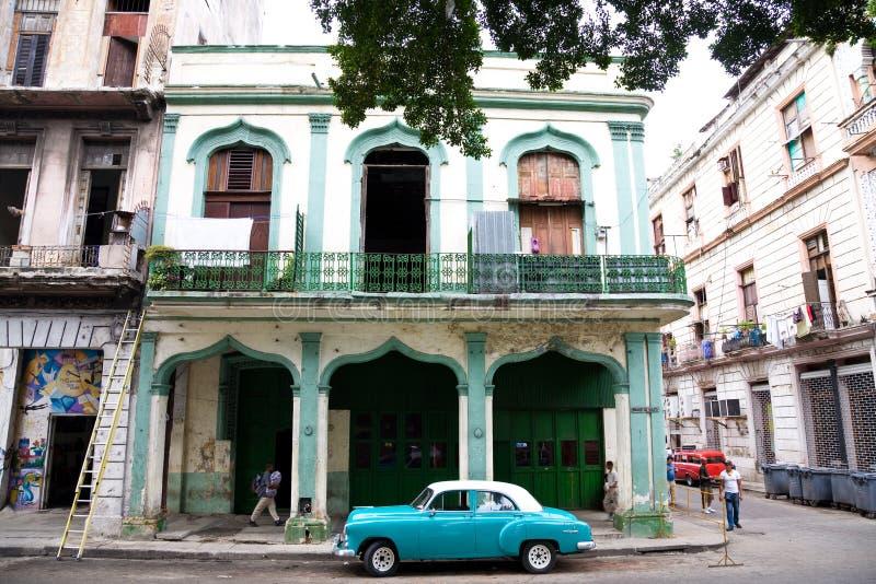 Miastowa Uliczna scena, Hawańska, Kuba obrazy royalty free