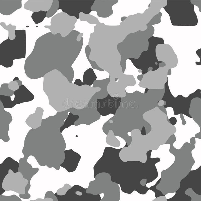 Miastowego camo bezszwowy wzór ilustracja wektor