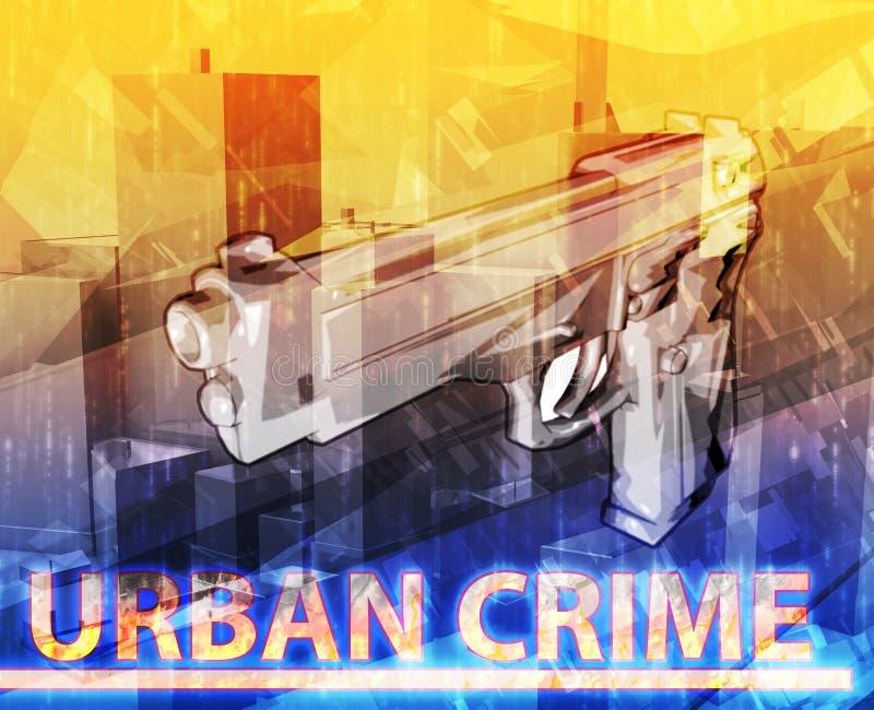 Download Miastowego Przestępstwa Abstrakcjonistycznego Pojęcia Cyfrowa Ilustracja Ilustracji - Ilustracja złożonej z przestępstwo, pistolet: 53790951
