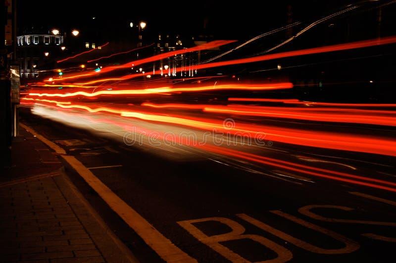 Miastowi światła zdjęcie royalty free