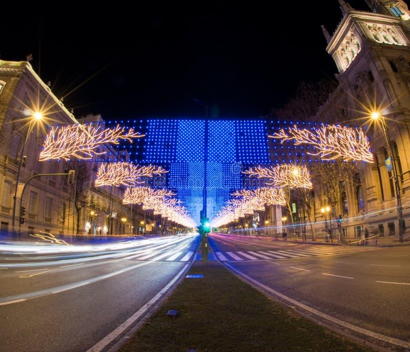 miastowi dekoracj xtmas zdjęcia royalty free