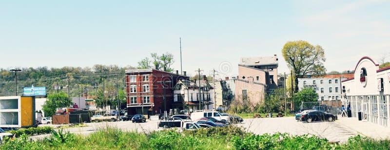Miastowy Cincinnati, Ohio fotografia royalty free
