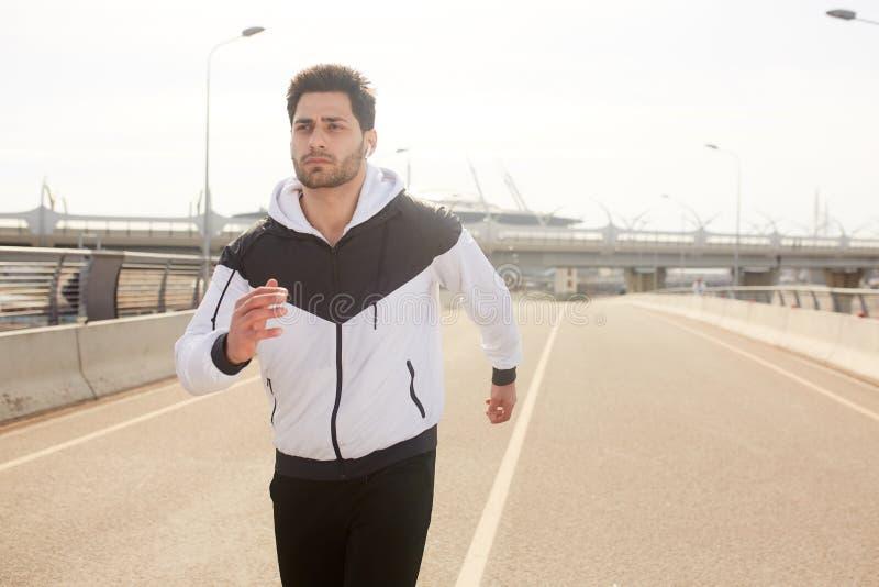Miastowy Jogging obraz royalty free