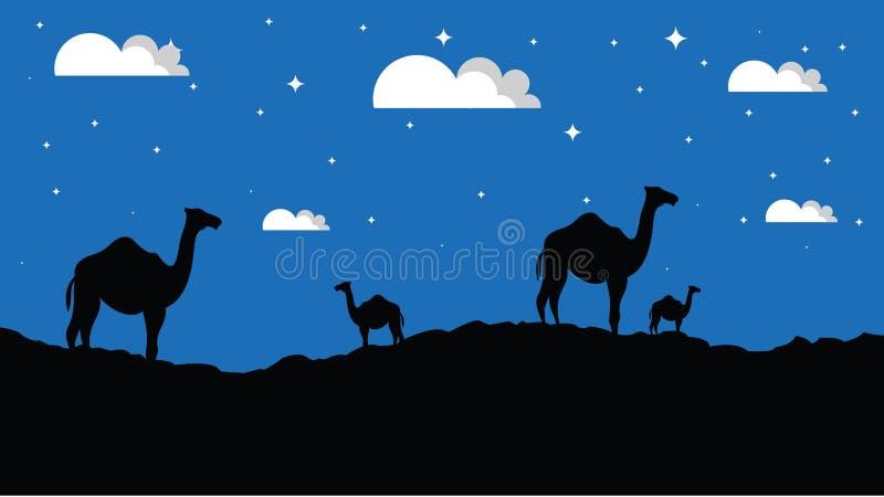 Miastowy krajobraz, park avenue również zwrócić corel ilustracji wektora tła miasta noc ulica Kreskówka zmierzchu góry krajobrazu royalty ilustracja