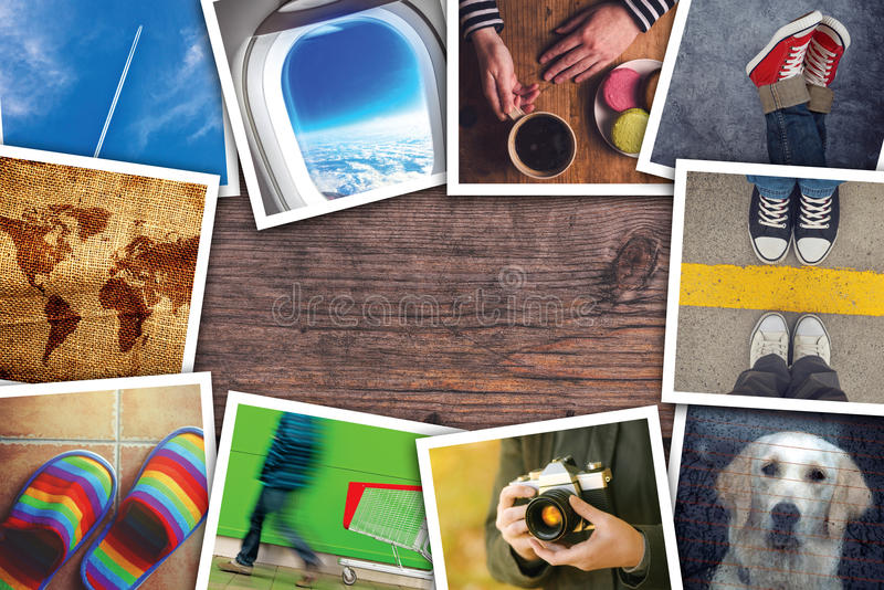 Download Miastowy Młodość Stylu życia Fotografii Kolaż Obraz Stock - Obraz złożonej z świętowanie, obrazki: 65226573