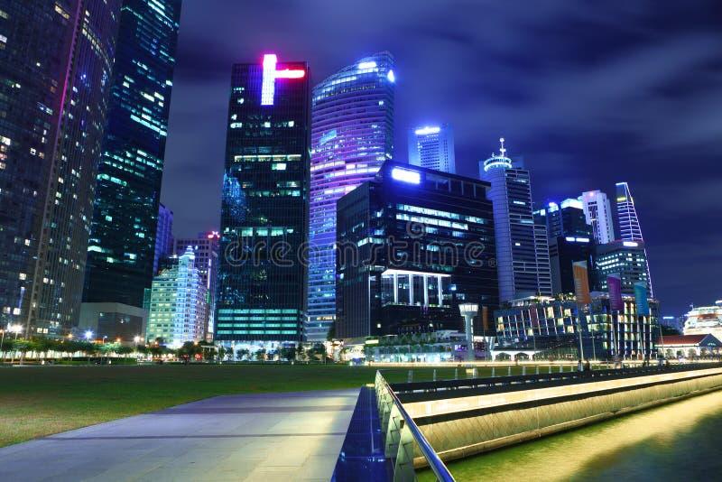 Miastowy pejzaż miejski w Singapur obraz royalty free