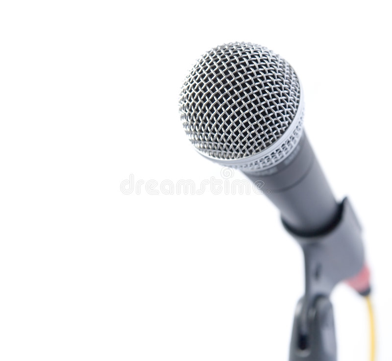 mic专业人员 免版税库存图片