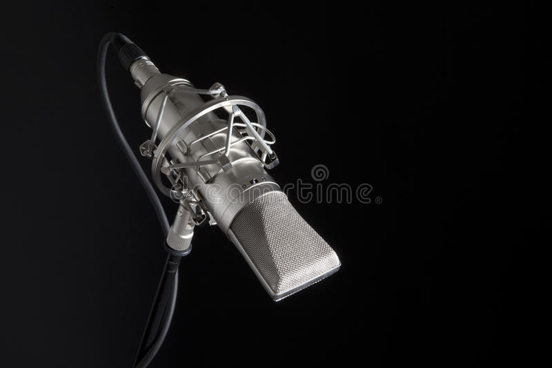 mic工作室 图库摄影