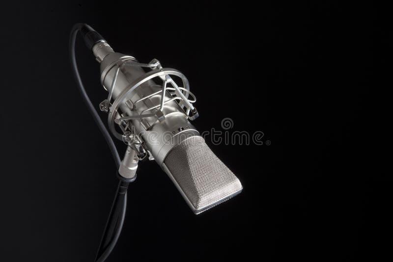 mic στούντιο στοκ φωτογραφία