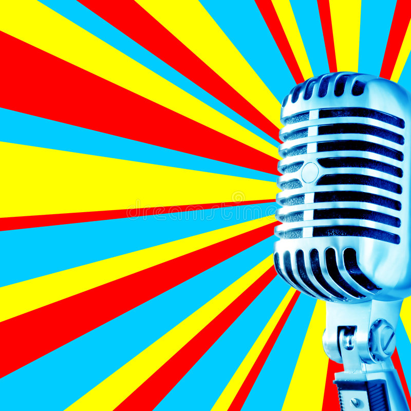 mic 3 disco fotografia royalty free