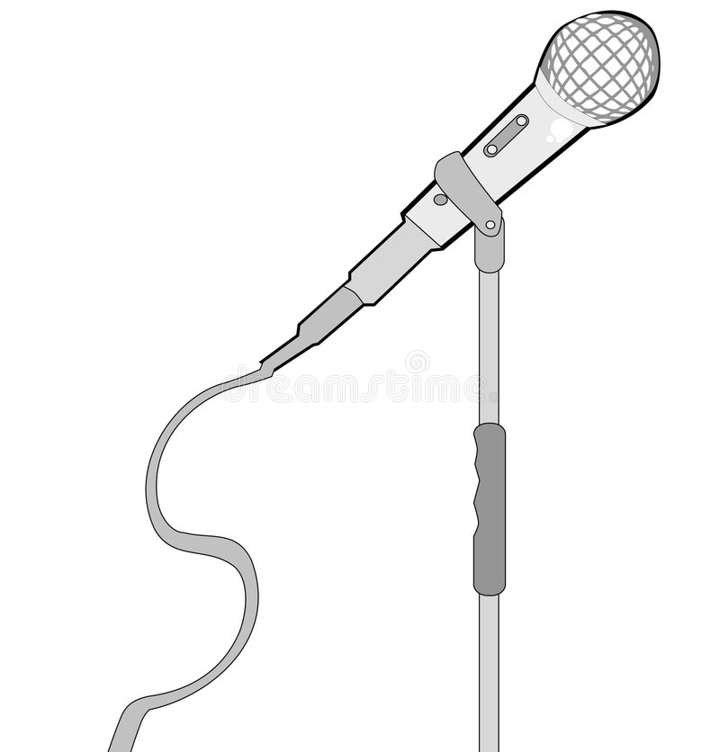 Download Mic stock vector. Illustration of live, discussion, club - 3247840