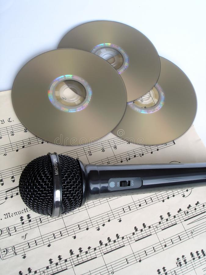 Download Mic stock photo. Image of disc, musician, cdrw, microphone - 557558