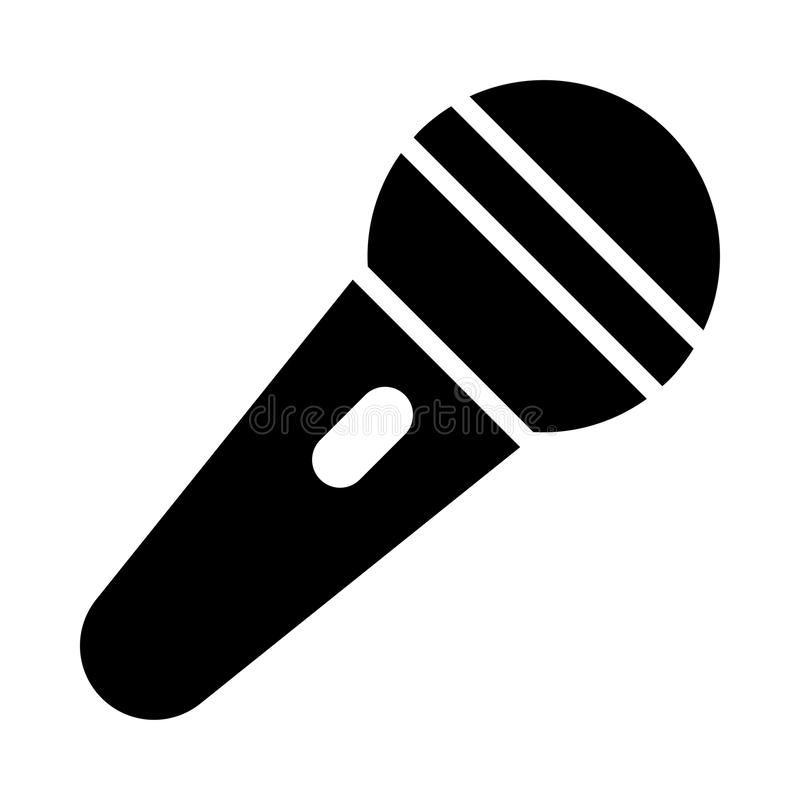 Mic Icon vector illustratie