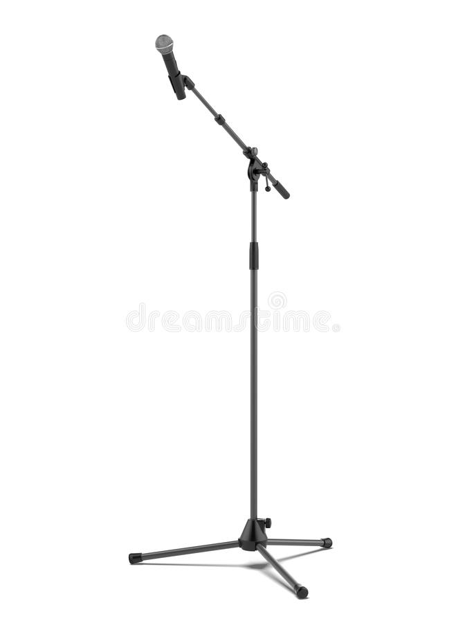 Download Mic stand stock image. Image of professional, equipment - 43308651