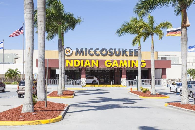 Miccosukee Indisch Casino, Florida royalty-vrije stock foto