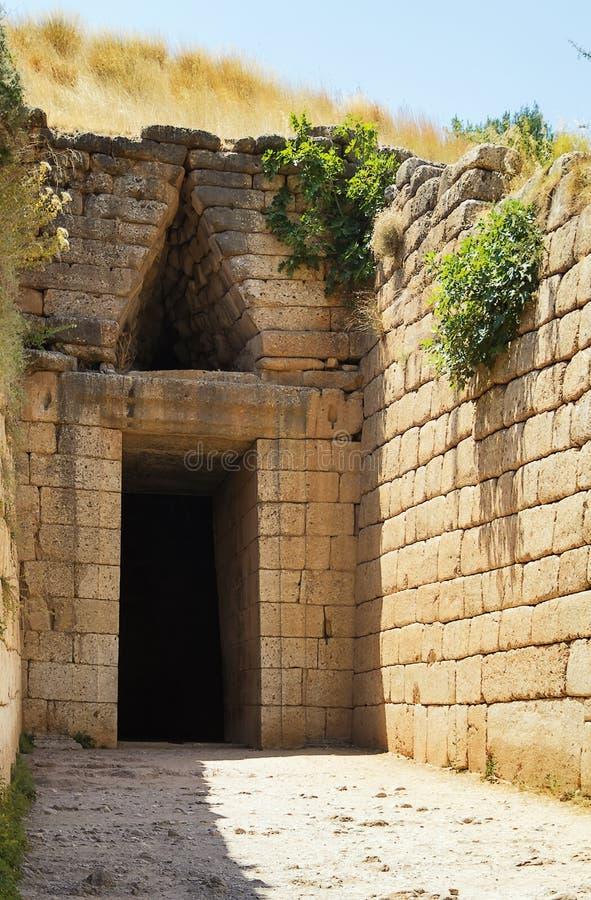 Micene, Grecia immagine stock