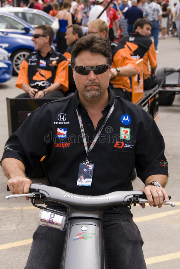 Michael Andretti imagem de stock royalty free