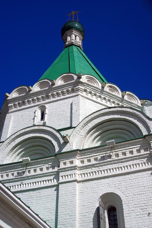 Michael Archangel Church El Kremlin en Nizhny Novgorod, Rusia imagen de archivo