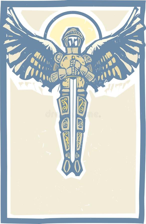 Michael Archangel Color royalty-vrije illustratie