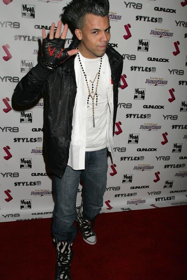 Michael Benz på deltagaren för premiär för debut för J.Smith-musikvideo. Les Deux, Hollywood, CA. 02-25-09 royaltyfri foto