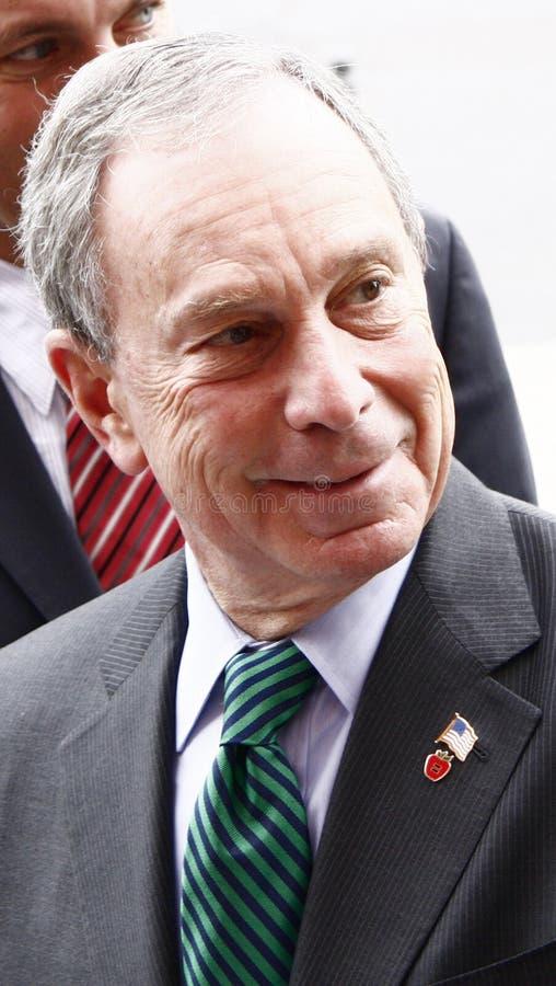 Michael Bloomberg immagini stock