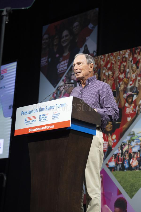 Michael Bloomberg Speaks At The Urgent Gun Safety ...
