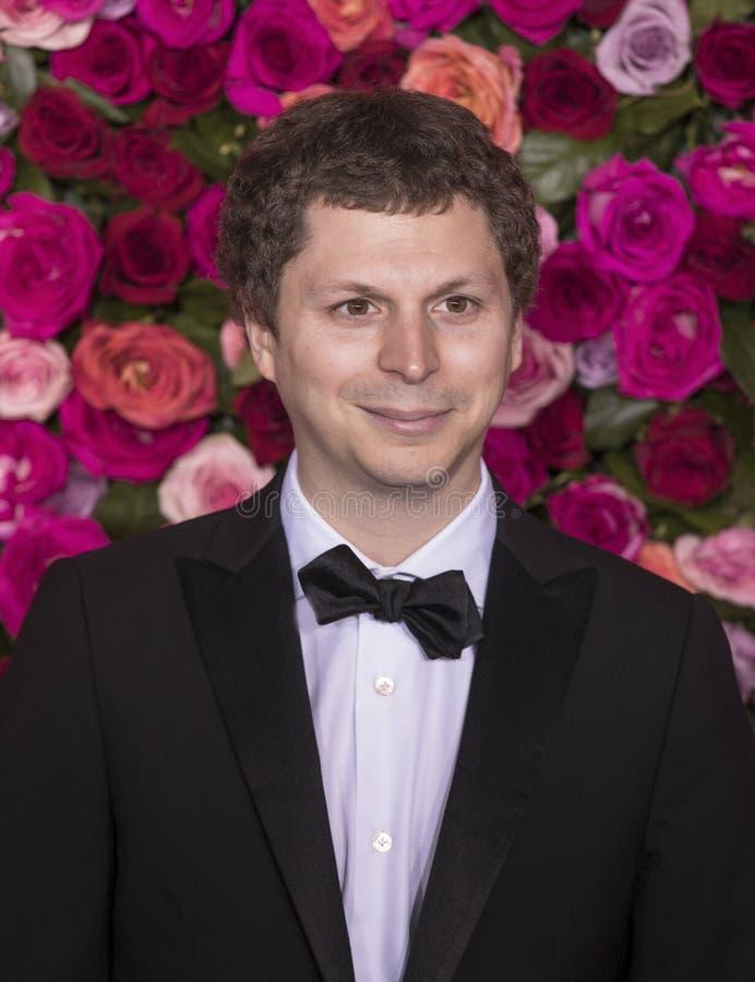 Michael Cera en Tony Awards 2018 imagen de archivo libre de regalías