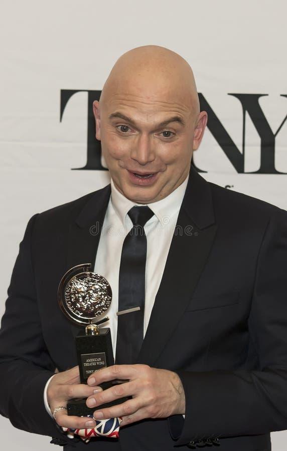 Michael Cerveris wygrywa Tony przy 69th nagrodami w 2015 zdjęcia stock