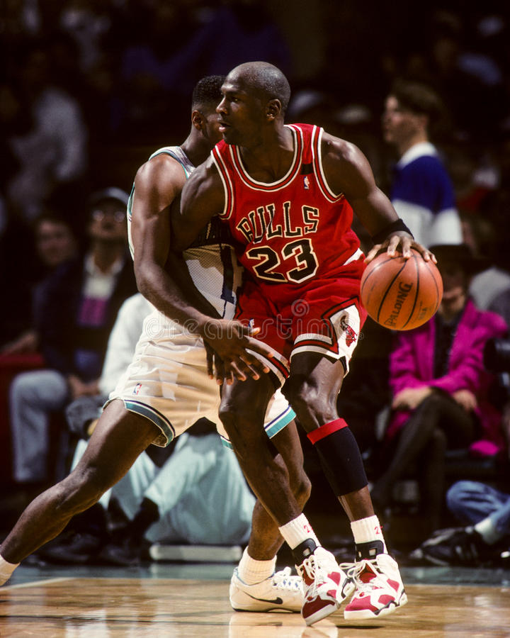 Michael Chicago Bull Jordania zdjęcia royalty free