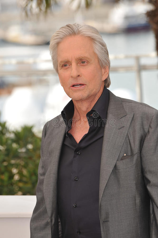 Michael Douglas immagine stock