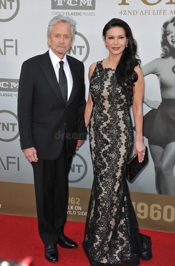 Download Michael Douglas Y Catherine Zeta-Jones Foto editorial - Imagen de jane, fonda: 44857216