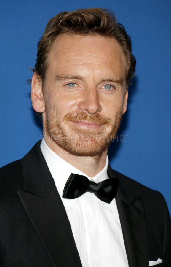 Michael Fassbender immagine stock